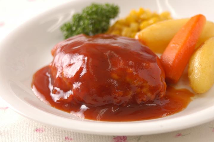 鹿児島黒豚無添加ハンバーグトマトハンバーグ
