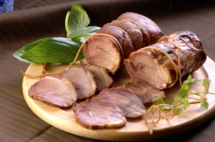 鹿児島ますやの無添加黒豚焼き豚